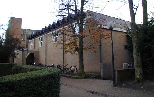 sportzaal in de Cassiersstraat