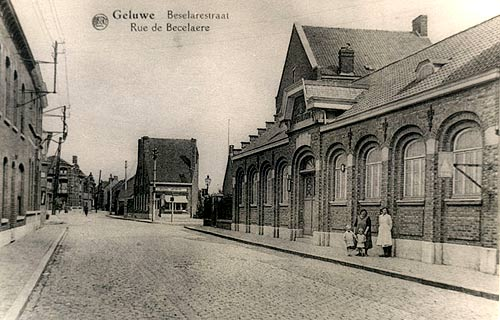 de jongensschool in de Beselarestraat