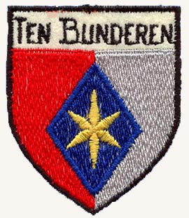 wapenschild van Ten Bunderen op het turn-uniform